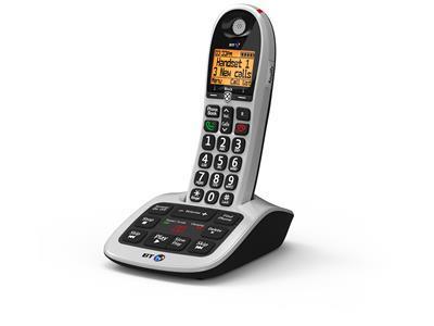 British Telecom BT 4600 Premium Nuisance Call Blocker Single DECT telephone Black,Silver Caller ID