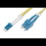 Digitus DK-2932-02 cable de fibra optica 2 m LC SC Amarillo