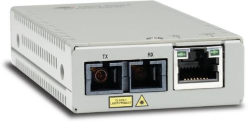 Allied Telesis AT-MMC200/SC-60 network media converter 100 Mbit/s 1310 nm Multi-mode Silver