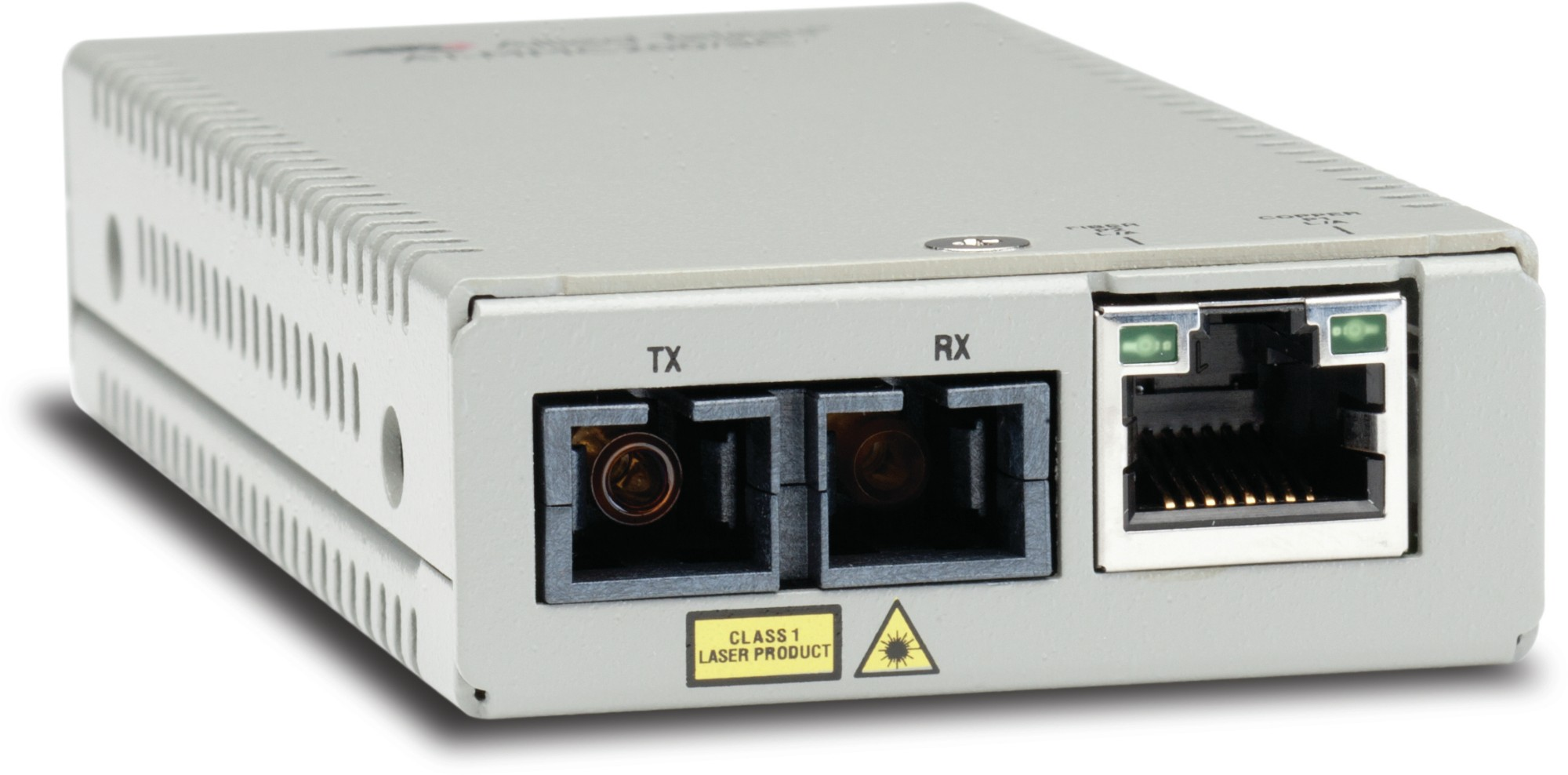 Allied Telesis AT-MMC200/SC-60 100Mbit/s 1310nm Multi-mode Silver network media converter