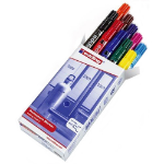Edding 2000c permanent marker Black,Blue,Bronze,Green,Orange,Pink,Red,Violet,Yellow Brush tip 10 pc(s)