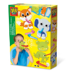 SES Creative Children's Horn Blower Animals, Unisex, 3 Years or Above, Multi-colour (14018)