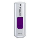Transcend JetFlash 530 32GB USB 2.0 Violet,White USB Flash Drive