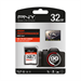 PNY SDHC 32GB High Performance 32GB SDHC UHS-I Class 10 memory card