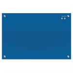QUARTET INFINITY GLASS BOARD 450X600 BLUE