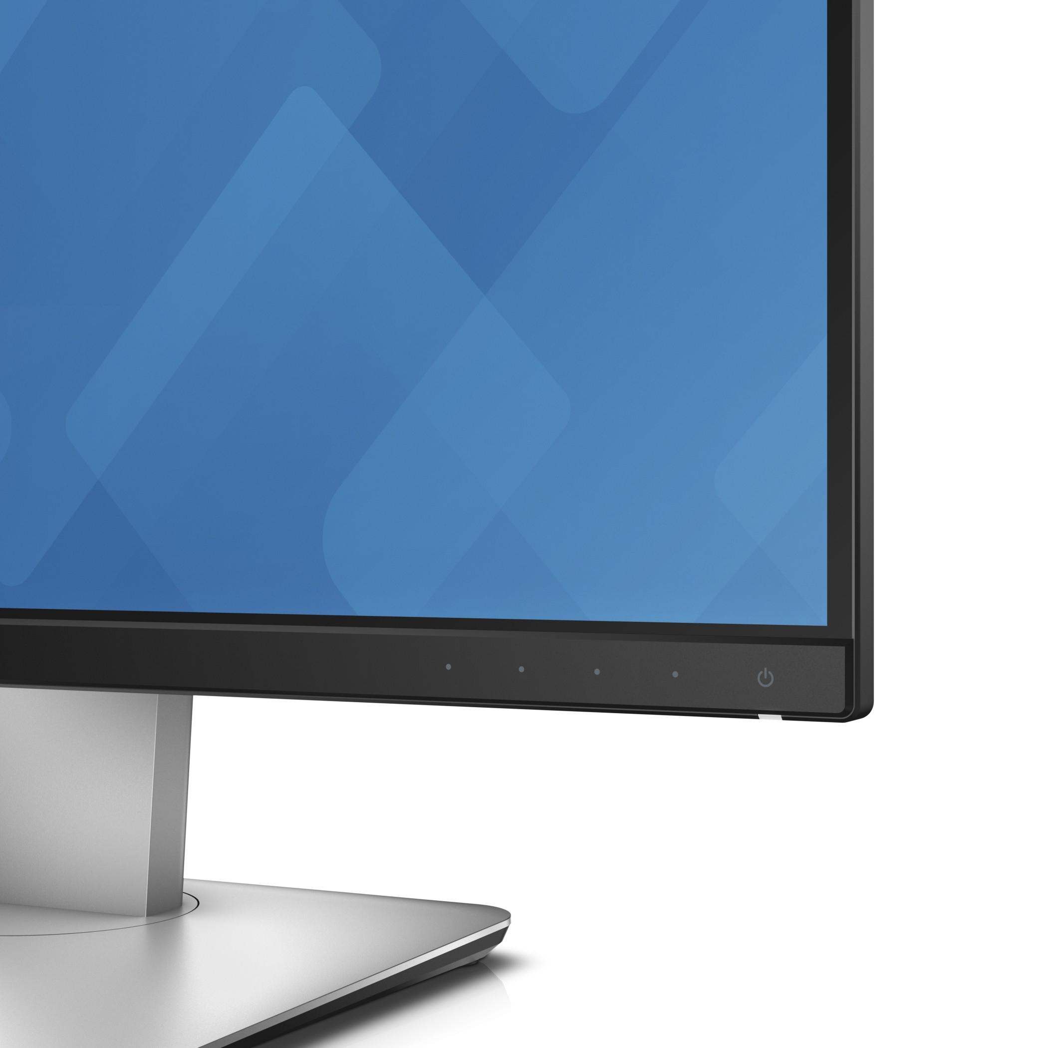 Dell Ultrasharp U2415 Ips 24 1 Black Silver Full Hd Matt