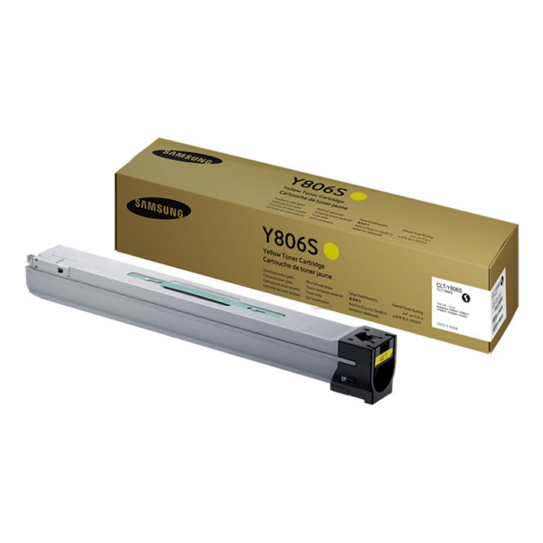 Samsung CLT-Y806S/ELS (Y806S) Toner yellow, 30K pages @ 5% coverage