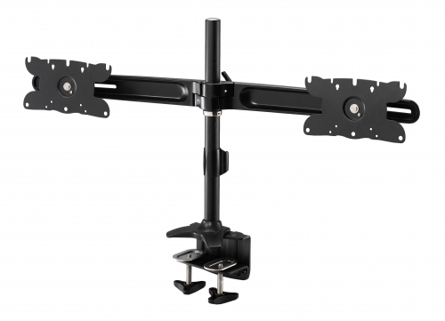Dual Monitor Mount Clamp Max 32in Monitor