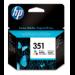 HP Cartucho de tinta original 351 Tri-color