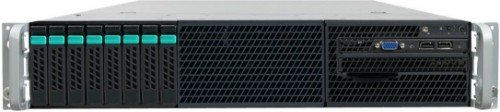 Intel R2208GZ4GS9 Intel C602 LGA 2011 (Socket R) 2U Black, Silver server barebone