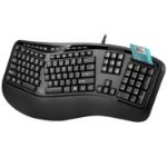 Adesso AKB-150SB keyboard USB QWERTY US International Black