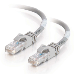 C2G 20m Cat6 550MHz Snagless Patch Cable networking cable U/UTP (UTP) Grey