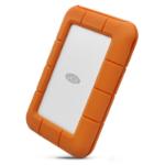 LaCie Rugged USB-C external hard drive 5000 GB Grey, Yellow