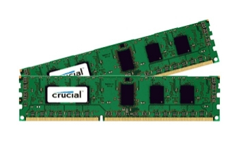 Crucial CT2K102464BD160B módulo de memoria 16 GB 2 x 8 GB DDR3L 1600 MHz