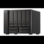 QNAP TS-H973AX-8G NAS/storage server V1500B Ethernet LAN Tower Black