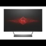 "HP OMEN 32 LED display 81.3 cm (32"") Wide Quad HD Flat Matt Black"