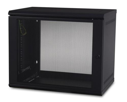 APC AR109 rack cabinet 9U Wall mounted rack Black