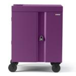 Bretford Cube Cart Portable device management cart Purple