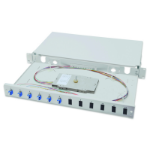 Digitus DN-96330/9 fiber optic adapter LC Grey 1 pc(s)