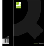 Q-CONNECT CASEBOUND A4 HARDBACK BLACK