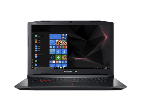 "Acer Predator PH317-52-787S Black,Red Notebook 43.9 cm (17.3"") 1920 x 1080 pixels 2.20 GHz 8th gen Intel® Core™ i7 i7-8750H"