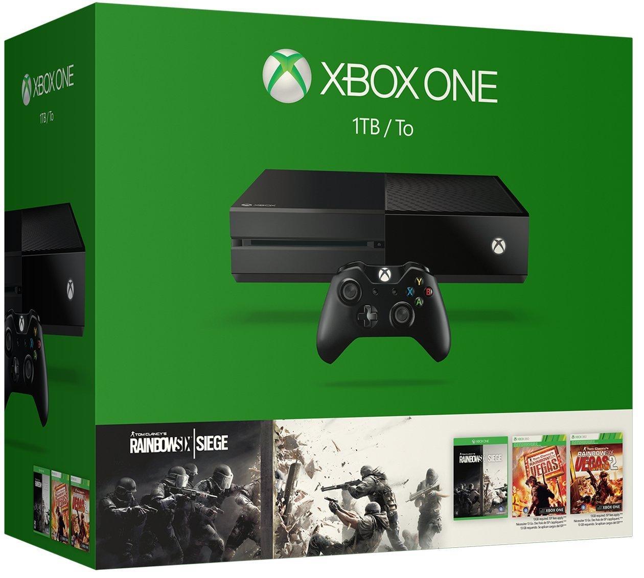 Microsoft Xbox One 1TB Tom Clancy's Rainbow Six Siege Bundle