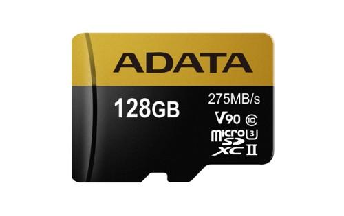 ADATA Premier ONE V90 128GB MicroSDXC UHS-II Class 10 memory card