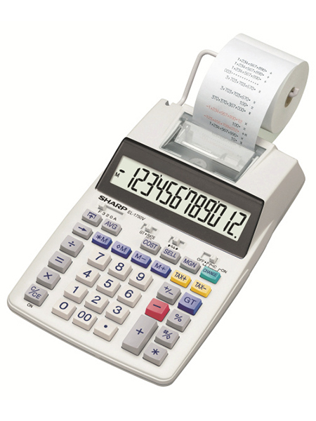 SHARP EL-1750V CALCULATOR