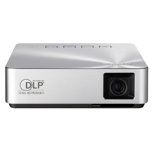 ASUS S1 Portable projector 200ANSI lumens DLP WVGA (854x480) Silver data projector