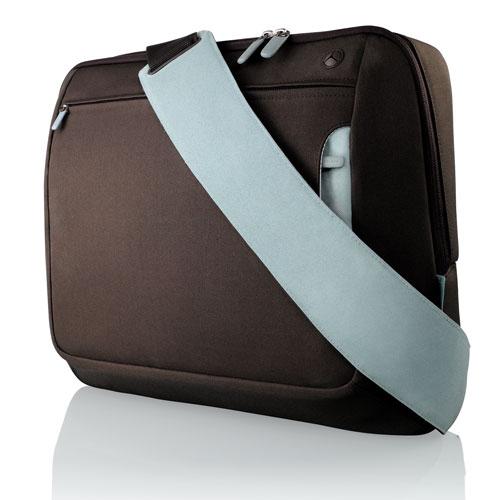 "Belkin Messenger Bag 17"", Chocolate/Tourmaline"