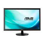 "ASUS VS247HR 23.6"" Full HD Black computer monitor"