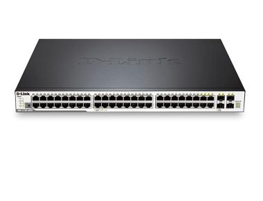 D-Link DGS-3120-48PC/SI switch Gestionado L2+ Negro Energía sobre Ethernet (PoE)