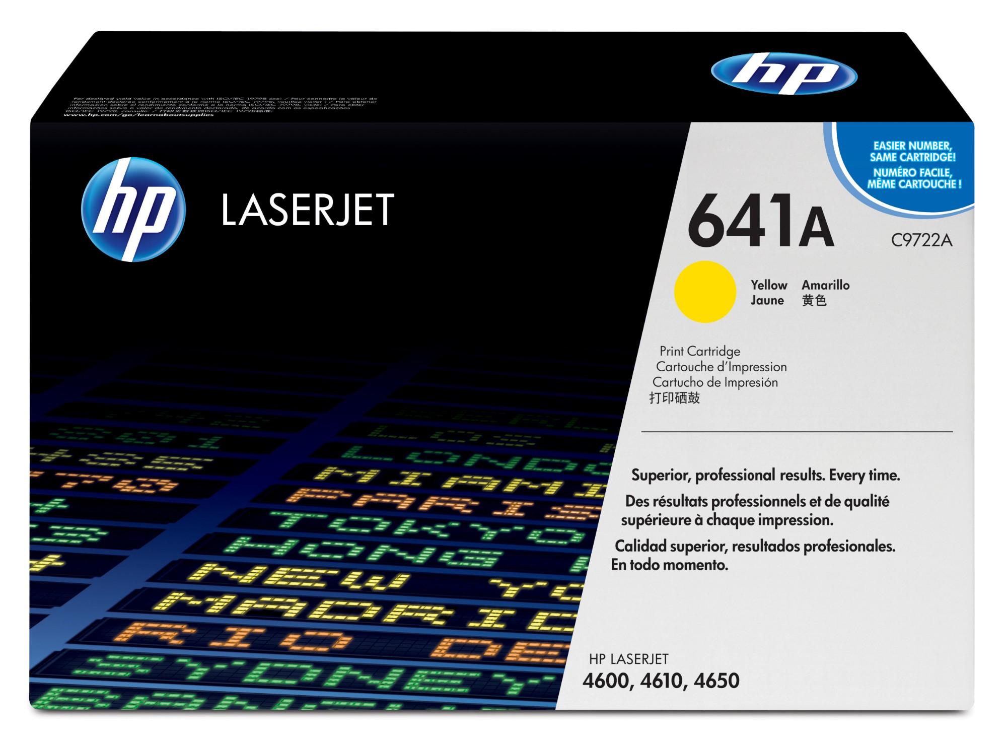HP 641A Origineel Geel 1 stuk(s)