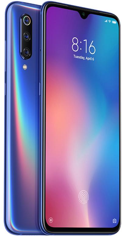"""Xiaomi Mi 9 16,2 cm (6.39"""") 6 GB 128 GB Dual SIM Blauw 3300 mAh"""