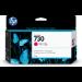 HP Cartucho de tinta DesignJet 730 magenta de 130 ml