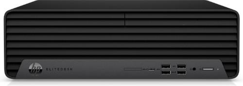 HP EliteDesk 800 G6 DDR4-SDRAM i7-10700 Small Desktop 10th gen Intel® Core™ i7 16 GB 512 GB SSD Windows 10 Pro Mini PC Black