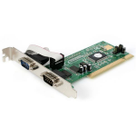 StarTech.com 2 Port PCI RS232 Serial Adapter Card with 16550 UART interface cards/adapter
