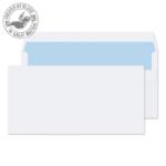 Blake Value Wallet S/S Plain DL 110x220mm 90gsm White PK1000