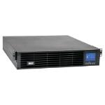 Tripp Lite SUINT2200LCD2U 208/230V 2200VA 1.98kW Double-Conversion UPS - 9 Outlets, Extended Run, Card Slot, LCD, USB, DB9, 2U