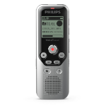 Philips DVT1250 dictaphone Internal memory & flash card Black, Gray