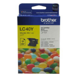 BROTHER LC-40Y INKJET CARTRIDGE YELLOW