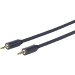 VivoLink PROMJLSZH1 audio cable 1 m 3.5mm Black