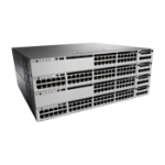 Cisco Catalyst WS-C3850-48T-E network switch Managed Black,Grey