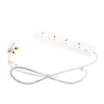 SMJ F4W2MQ Indoor 4AC outlet(s) 2m White power extensionZZZZZ], F4W2MQ