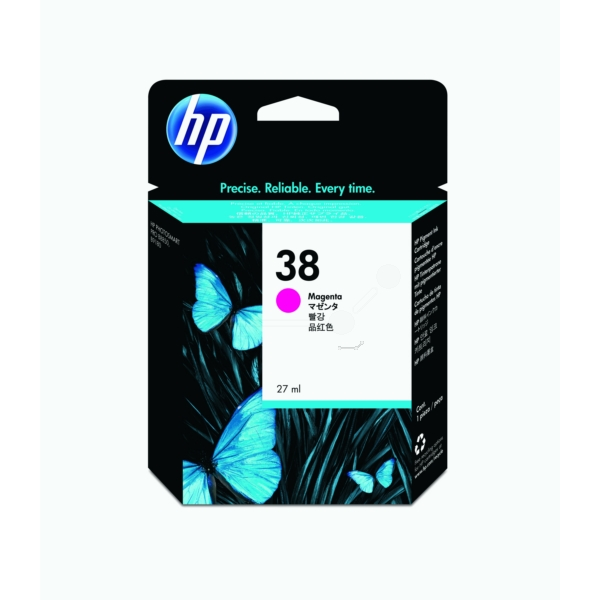 HP C9416A (38) Ink cartridge magenta, 850 pages, 27ml