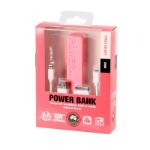 Laser PB-2200P-PNK 2200mAh Pink power bank
