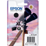 Epson 502XL 9.2ml 550pages Black ink cartridge C13T02W14010