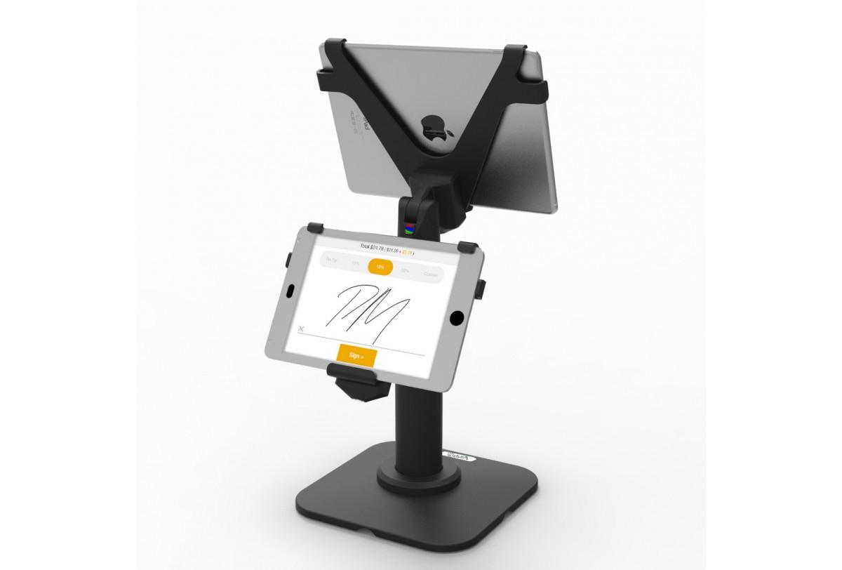 "Maclocks V-Bracket 9.7"" Black tablet security enclosure"