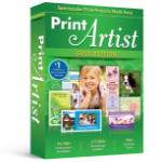 Avanquest Print Artist 25 Gold 1 Lizenz(en) Elektronischer Software-Download (ESD) Englisch
