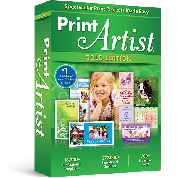 Avanquest Print Artist 25 Gold 1 Lizenz(en) Elektronischer Software-Download (ESD) Englisch